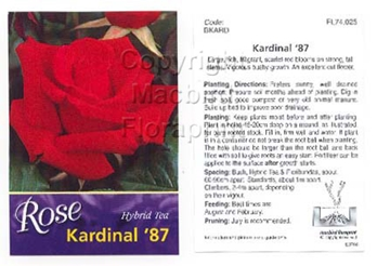 Picture of ROSE KARDINAL 87 (HT)