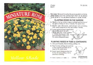 Picture of ROSE MINI YELLOW SHADE (UNNAMED VARIETY)