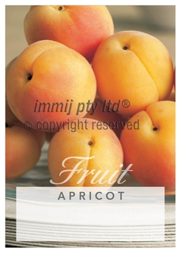 Picture of FRUIT APRICOT (UNNAMED VARIETY)