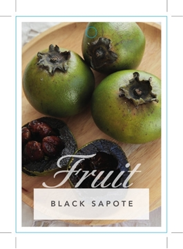 Picture of FRUIT BLACK SAPOTE OR CHOCOLATE PUDDING FRUIT
