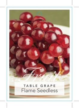 Picture of FRUIT GRAPE TABLE FLAME SEEDLESS