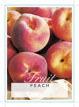 Picture of **FRUIT PEACH (UNNAMED VARIETY) Jumbo Tag